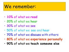 We+remember:+10%+of+what+we+read+20%+of+what+we+hear.jpg (960×720)