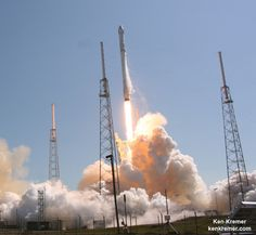 SpaceX Dragon Launches on Science Supply Run to Station, Booster Hard Lands on Barge