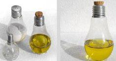Condimenteros con materiales reciclados   Ideas para Decoracion