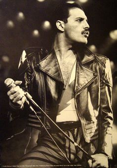 Freddie Mercury, only the good die young :(