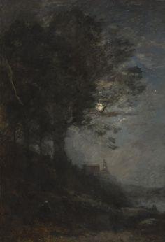 Lisière de Bois, Jean-Baptiste-Camille Corot