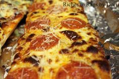 *Riches to Rags* by Dori: French Bread Pizza