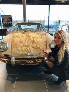 Tanja Stadnic. Porsche 901 needs a paintjob
