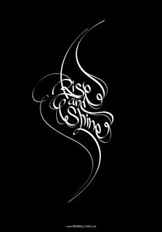 typography | Handwriting Art Typography by nosKILL1343