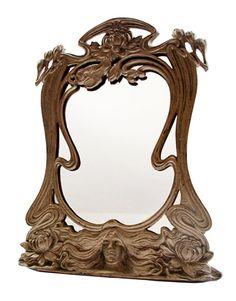 art nouveau espejo