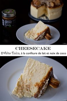 Cheesecake d'Aliter Dulcia à la confiture de lait et noix de coco (sans gluten) I Want To Eat, Sweet Cakes, Sans Gluten, Cheesecakes, French Toast, Favorite Recipes, Bread, Homemade, Breakfast