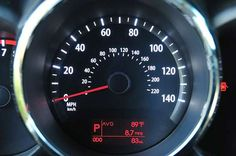 kia soul speedometer