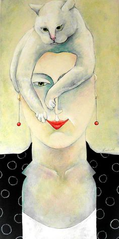 Bad Hair Day Carla Raadsveld, cats in contemporary art