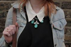 Statement necklace // www.bumpkinbetty.com // #fashion #jewellery #bumpkinbetty #blogger