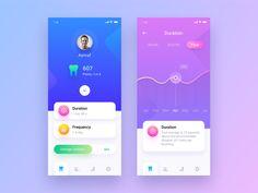 Tooth brush app design app 内 页 мобильное Ios App Design, Web Design, Design Home App, Game Ui Design, Mobile Ui Design, Dashboard Design, User Interface Design, Design Trends, Ui Design Tutorial