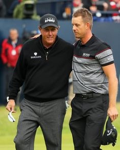Props to Phil Mickelson. He finished runner-up for the time in a major. Phil finished 11 strokes better than place. Phil Mickelson, Sporty, Jackets, Sunday, Fashion, Down Jackets, Moda, Fashion Styles, Jacket