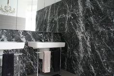 GRIGIO CARNICO bathroom by Mörz Natural Stones, Vanity, Bathroom, Projects, Painted Makeup Vanity, Washroom, Lowboy, Dressing Tables, Bath Room
