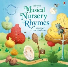 Press-the-buttons-on-the-pages-of-this-delightful-book-to-hear-the-tunes-for-seven-well-loved-nursery-rhymes-including-Humpty-Dumpty-Little-Bo-peep-Sing-a-Song-of-Sixpence-and-Hey-Diddle-Diddle-Includes-the-words-for-each-rhyme-and-delightful-illustrations-by-Richard-Johnson-with-fingertrails-and-cut-out-shapes-to-discover
