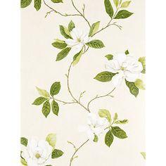 Buy Sanderson Wallpaper, Sweet Bay Green, DPFWSW102 Online at johnlewis.com