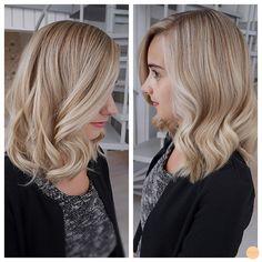 Highlighted blonde