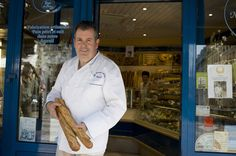 ...I will see for myself if Pascal Barillon, boulanger au Levain d'Antan in Montmartre (Abbesses metro) makes the best baguette in Paris.  Twist my arm.