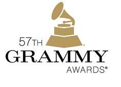 57th Grammy Awards logo