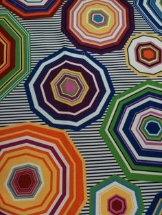 Missoni fabric Spring 2012, no more quilting solids, it's already printed! ;)