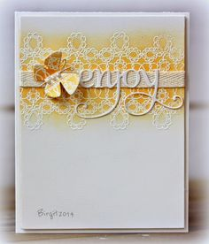 Stamps and dies from Penny Black— Footnotes Hooray Flutters Penny Black Karten, Penny Black Cards, Penny Black Stamps, Card Making Inspiration, Making Ideas, Flutter Cards, Beautiful Handmade Cards, Butterfly Cards, Mellow Yellow