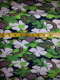 #4leafclover #rainbows #stpattysday #holidayfabric
