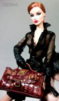 Maybe I'll present my next collection on all Barbies?! Remember you read it here !st!!!!