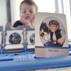 Star Wars Guess Who Game! Photo by underthesycamore