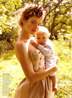 Natalia Vodianova - one of my favorite Vogue spreads of all time