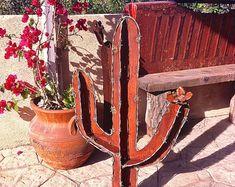 Ciernes Agave rústico escultura del jardín del por TopangaPatina