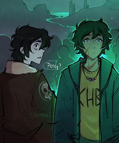 Based on a dream I had the other night where Percy dies and nico runs into him in the underworld. #nicodiangelo #percyjackson #pjo…