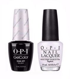 Opi Gelcolor Matching Lacquer Oh My Majesty Ba2 Gel Polish Nail
