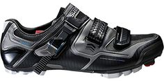 Shimano 2015 Mens XC Racing Performance Mountain Bike Shoes  SHXC61L Black  46 * Check out this great product.