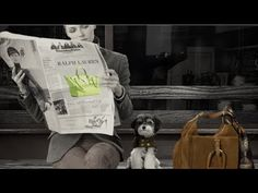 Shelter Dogs Star in Ralph Lauren's Fall Accessories Video