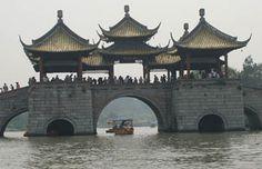 Thin West Lake, Yangzhou, China