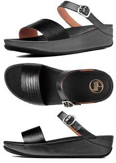 0e62b2a81e48 FitFlop Souza Sandals All Black