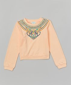 Look at this Flying Tomato Pink Egyptian Top - Girls on #zulily today!