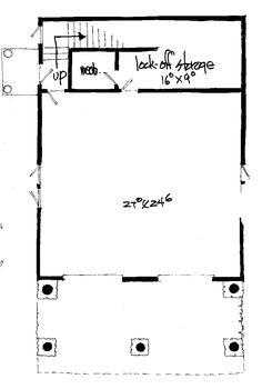 Garage Plan 43209 at FamilyHomePlans.com