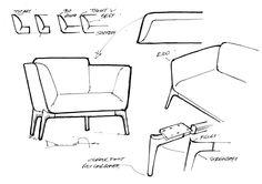 chair design sketches - Google zoeken