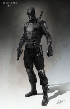 G.I. Joe: Retaliation Concept Art and Costume Design by Constantine Sekeris