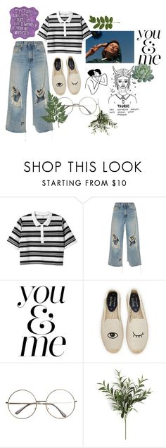 """""""H o p l e s s   R o m a n t i c"""" by h3ykatrina on Polyvore featuring Monki, R13, WALL, Soludos and Sharpie"""