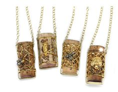 Phillips Frankel- cork necklaces
