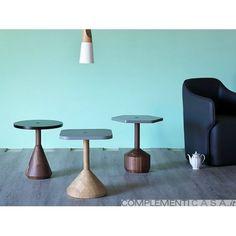 Pezzo tavolino in legno massello di Miniforms