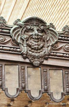 Gargoyle - Toronto Sea Serpent, Masonry Wall, Chimera, Evil Spirits, Animal Heads, Green Man, Stone Carving, Abandoned Places, Architecture Details