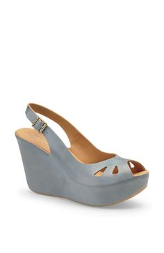 In love with these! The wedge! The color! The shape! *dies* ---  Kork-Ease 'Felicia' Platform Sandal available at Nordstrom.