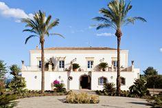 The imposing facade of Don Venerando, part of our Think Exquisite range of villas in Sicily. Photography: Benedetto Tarantino