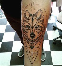 Wolf Tattoos, Tatoos, Capricorn Tattoo, Tattoos For Guys, Tatting, Husky, Tattoo Designs, Fox, Hairstyles