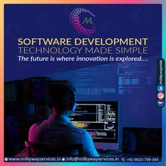 Software Development Technology made simple The future is where innovation is explored Call ☎️ at : +91-9015-799-394 . For more information about service visit our site right now- . . #software #softwaredevelopment #softwaredesign #development #technology #developer #customsoftware #webdesign #websitedevelopment #startup #website #schoolsoftware #erpsoftware #hrmsoftware #ecommerce #businessapp #business #itcompany #branding Software Development, Ecommerce, Make It Simple, Innovation, Web Design, Management, Branding, Technology, Website