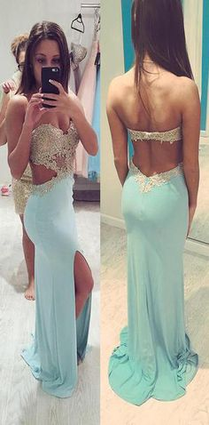 Sexy Sweetheart Prom Dresses,Long Prom Dress,Sexy Backless Evening Dress