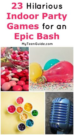 23 Hilarious Indoor Party Games for Teens That Will Make Them ROFL Want to host an epic party game for teens? Check out fun things to do at a party for 13 year olds all the way to the best party games for teenagers We'll even te Girls Birthday Party Games, Slumber Party Games, 13th Birthday Parties, Slumber Parties, Party Games For Tweens, 11th Birthday, Party Games For Girls, Fun Teen Games, Sleepover Games Teenage
