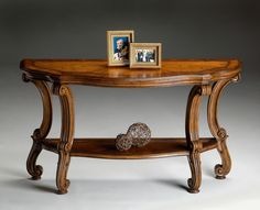 Connoisseur's Console Table