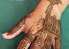 moroccan henna designs | how much henna can you do Archives - Henna by Heather
